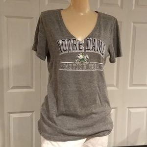 Women's Notre Dame t-shirt size large